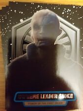 2016 Star Wars The Force Awakens 2 #11 Supreme Leader Snoke Power of First Order