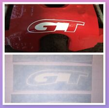GT Ford Mustang Caliper Decals Stickers - 6 Diff Colors HI TEMP!