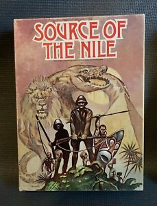 Source of the Nile Avalon Hill Bookshelf Game Leisure Time 6315 1979