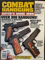 Combat Handguns Magazine Volume 3 Number 1 Buyer's Guide 1998