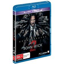 John Wick - Chapter 2 (Blu-ray, 2017) (Region B) Aussie Release