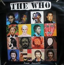 Rare The Who Face Dances 1981 Vintage Orig Music Record Store Big Promo Poster