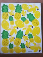 Foam Stickers Yellow Fruits 28 banana pineapple lemon Brand: Otc