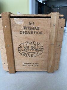 Tabacos La Paz Primeros Cigar Box