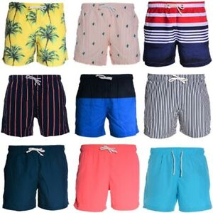 Mens Swimming Board Shorts Swim Surf Shorts Trunks Swimwear Beach Wear Quick Dry