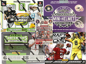 Detroit Lions (5) Box Football Mixer Case Break with 2020 Contenders Optic