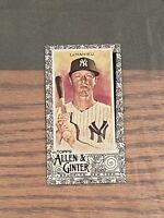 2020 Topps Allen & Ginter DJ LEMAHIEU Black Border Mini #80 Yankees