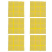 6pcs Acoustic Foam Sound Absorption Panels Sound Isolation Foam Yellow Color