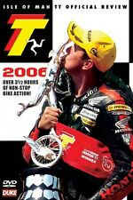 Isle of Man TT - Official Review 2006 (New DVD) McGuinness Martin Anstey