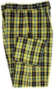 Cornish National Mens  Tartan Trouser Short , Regular And Long