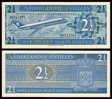 Antillas Holandesas - Netherlands Antilles 2,5 Gulden 8-9-1970 Pick 21  SC = UNC