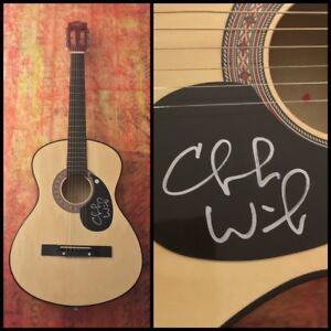 GFA Stealing Cinderella CHUCK WICKS Signed Autograph Acoustic Guitar C1 COA