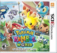 NEW Pokémon Rumble World (Nintendo 3DS, 2016)