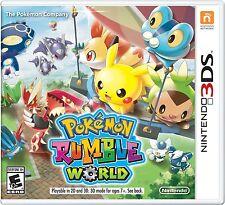NUOVO Pokémon Rumble World (Nintendo 3DS, 2016)