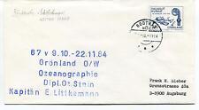 1984 Gronland Ozeanographie Littkemann Godthag Polar Antarctic Cover