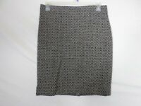 NEW J. Crew Womens Skirt Size 10 (31x22) Brown The Pencil Skirt Above Knee Wool