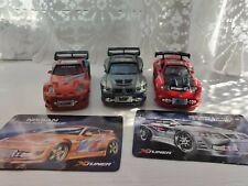 Set Of 3 Kentoys Xtuner Toy Cars Nissan Mitsubishi Mazda