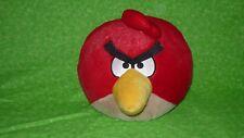 "Angry Birds 8"" Deluxe Plush Red Bird Rovio 2010 Commonwealth Toy Stuffed Animal"