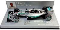 Minichamps Mercedes W06 Malaysia GP 2015 - Lewis Hamilton World Champion 1/43