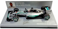 Minichamps Mercedes W06 Malaysia GP 2015 - Lewis Hamilton World Champion 1/43