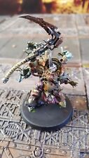 Warhammer 40k death guard pro painted  Typhus hearld of the plague god