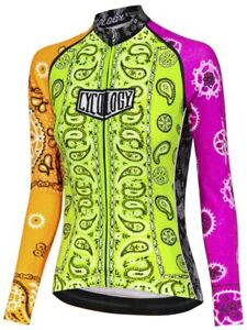 Cycology Women's Long Sleeve Jersey (Various Styles)