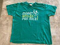 Vintage 90s Disney Mickey Mouse Marathon Running Graphic T-Shirt Adult Size XL