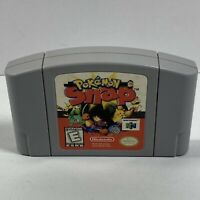 Pokemon Snap Nintendo 64, 1999 Tested & Authentic - N64 CLEAN! Game only