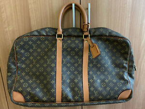 LOUIS VUITTON Monogram Vintage Soft Sided Luggage Travel Bag VX097058