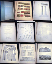 1909 LARGE FOLIO CLASSIC ARCHITECTURE ARCHAEOLOGY REFERENCE ILLUSTRATED UHDE