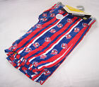 Sydney Roosters NRL Mens Blue Red Stripe Print Flannel Sleep Pants Size XL New
