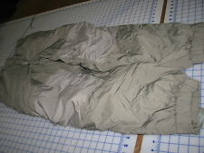 primaloft GEN III pants trousers USA lvl 7 sage green military issue small epic