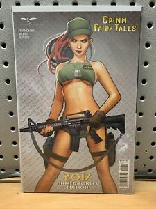 GRIMM FAIRY TALES 2017 ARMED FORCES EDITION NAKAYAMA C-variant Zenescope