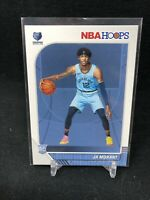 2019-20 Panini NBA Hoops Ja Morant #259 BASE RC Rookie Grizzlies T47
