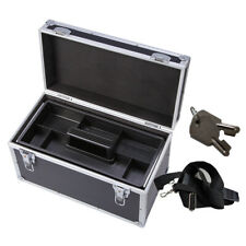 Tool Storage Box Aluminum Hard Case with Tray for Repair Tools Car Toys House
