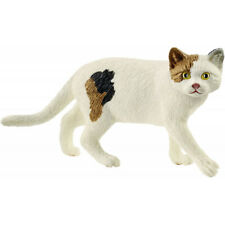 <>< Cat American Shorthair 13894 sweet tough Schleich anywheres a playground