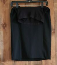 Motherhood Maternity Black Dress Skirt-size Small