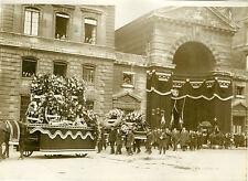 """""""Obsèques de l'Agent Henri VERJUS 1931"""" Photo originale G. DEVRED / Agce ROL"""