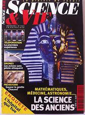 SCIENCE ET VIE n°965 de 02/1998; Téléportation/ Science des anciens/ Drones