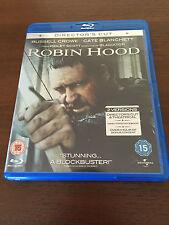 ROBIN HOOD - DIRECTOR'S CUT - BLURAY & DVD - RUSSELL CROWE CATE BLANCHETT
