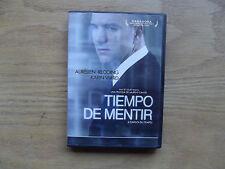 Tiempo De Mentir:L´ Emploi Du Temps - aka -Time Out (Rare HTF DVD) French