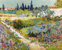 Garden at Arles Painting by Vincent van Gogh Art Reproduction