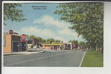 Coca Cola & Zimmerman's Drug Store in Business Section of Canfield Ohio