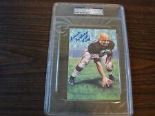 Frank Gatski Autograph / Signed Goal Line Art Card GLAC Cleveland Browns PSA/DNA