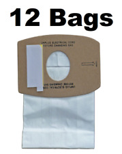 12 Allergy Bags for Simplicity Type S Sport Canister Hand Vacuum Cleaner S100