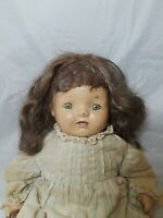 "Vintage Baby Hendren Doll  17"" Tall"