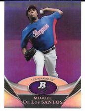 2011 Platinum Prospects Purple #BPP13 Miguel De Los Santos