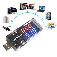 DC5V Red&Red/Red&Blue USB Charger Doctor Voltage Current Handy Battery Tester