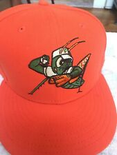 Greensboro Grasshoppers New Era  MILB Fitted Hat Size 8 Pittsburgh Pirates A