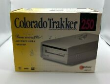 HP COLORADO Trakker 250 MB External Backup Tape Drive W/ Power Supply and Cable